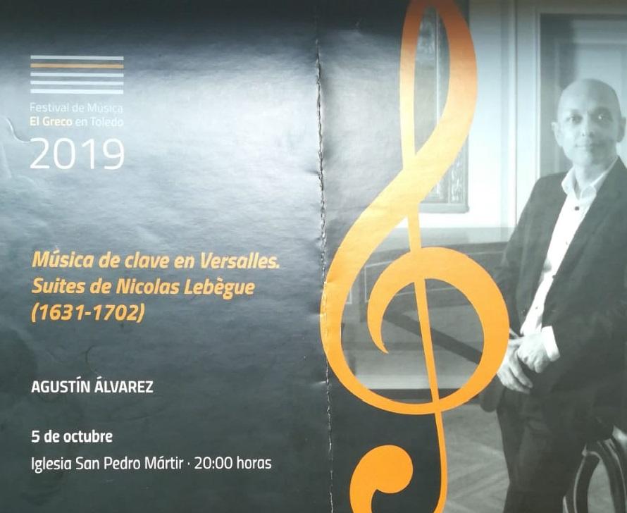 Lentretien des Clavecins - Concierto Festival El Greco Toledo